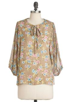 Candy Blossoms Top, #ModCloth