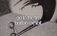 Tim Burton Exhibit