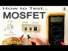 How to Test MOSFET transistor using Multimeter by some easy methods Electrical Engineering Books, Ohms Law, Simple Circuit, Guitar Chord Chart, Must Have Gadgets, Usb Gadgets, Laptop Repair, Voltage Regulator, Cooking Timer