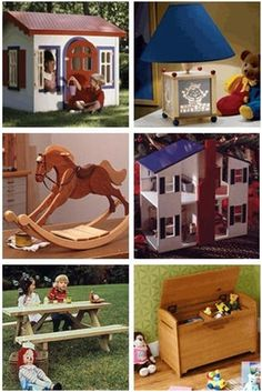 Create Something Great for that Special Kid - Get DIY plans for children's furniture and wooden toys at WoodStore.com