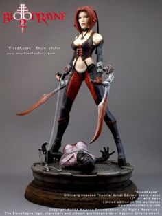 BloodRayne Statue | BloodRayne II Statue Blood Rayne II 2 Limited To 100 (Last One In ...