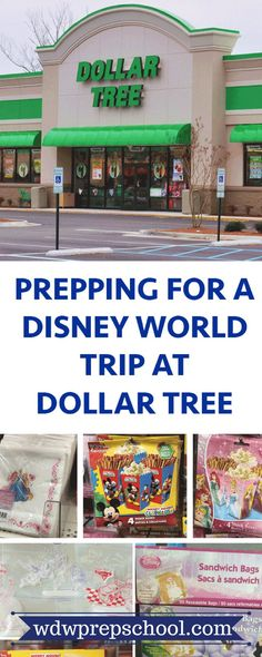 Shopping before a Disney World trip can really add up, but you can save some money by prepping for your next trip at Dollar Tree | Packing for Disney World | Hotel room organization | Disney World tips