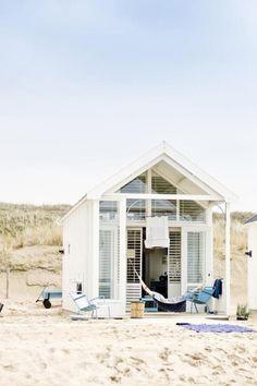 domek plażowy