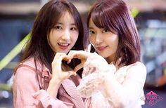 Lee chaeyeon and Sakura Miyawaki Sakura Miyawaki, Fandom, Wattpad, Japanese Girl Group, Kim Min, 3 In One, Extended Play, The Wiz, These Girls
