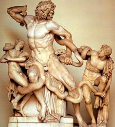 Laocoon and his sons, 25 BCE
