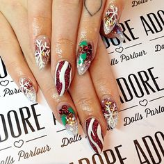 The holiday season is in full swing, and nails shouldn't be neglected. Check out some of our favorite holiday nails our readers submitted for #nailprodigy.