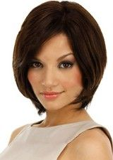 Nice 10Inch Silky Straight Remy Human Hair Full Lace Wig