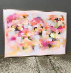 """Catherine Hiller (@catherinehiller_art) on Instagram: """"'Blossoms' Oil on linen - 100x140cm """""""