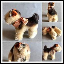 Vintage peluche  Steiff Terry terrier - originale Made in Germany