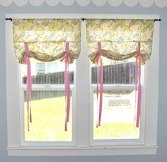 DIY Nursery Curtains