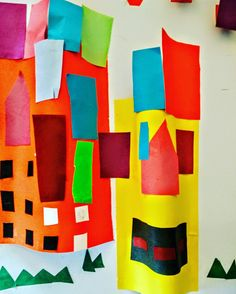 Project - 3D Art - #collage cityscapes