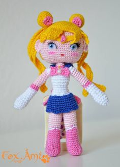 Sailor Moon Amigurumi Pattern - ITA - | Fox.Ami&craft