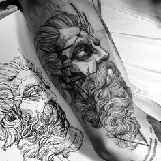 Referência do grande Lambert Sigisbert Adam Muito obrigado mais uma vez Matheus Feito na @inkonik_tattoo_studio #electricink