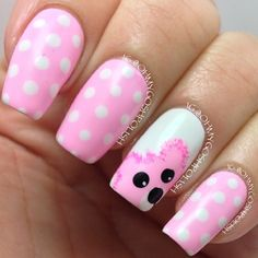 bear by ohmygoshpolish #nail #nails #nailart