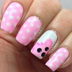 bear by ohmygoshpolish #nail #nails #nailart
