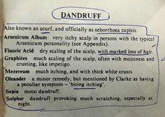 Homeopathy treatment of Dandruff