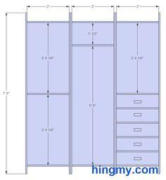 Standard Bedroom Closet Height - Tuforce.com