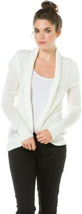 Wrap sweater, perfect over tanks @SWELL Style Style http://www.swell.com/Womens-Apparel-New-Products/ELEMENT-TILDA-WRAP-SWEATER?cs=NA #elementclothing