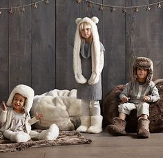 Luxe Faux Fur Booties | Wraps & Slippers | Restoration Hardware Baby & Child