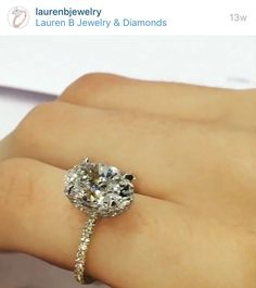 Lauren B jewelry...classic and classy! Be the envy of every woman in the room! This ring will leave them speechless!