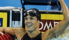 Dara Torres at age 41 became oldest swimmer to make olympic team (her 5th) in 2008.  She is a 12 time medalist with 3 silver in Bejing.  She is a mother,author,commentator.  Even though Dara was unsuccessful in her bid for a spot on the 2012 London team at age 45 she is an inspiration to all.  She did not let a number on a timeline prevent her from pursuing her dreams.