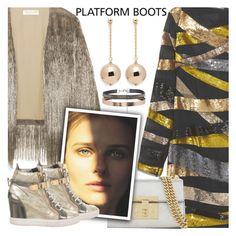 """Kickin' It: Platform Boots:"" by shoaleh-nia ❤ liked on Polyvore featuring Emilio Pucci, Rachel Zoe, Accessorize, Gucci, Giuseppe Zanotti and Kenneth Jay Lane"
