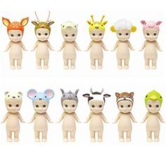Sonny Angel animal series 2, collectable little dolls with animal heads and wings from Japan * The Pippa & Ike Show