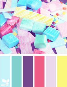 Candy Colour Palette