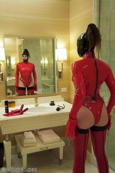 Double Dildo Latex Maid Alterpic Blog