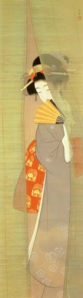 Uemura Shoen - Picture of a beautiful woman Asian Image, Art Chinois, Japan Painting, Art Asiatique, Turning Japanese, Japanese Illustration, Art Japonais, Japanese Prints, Japan Art