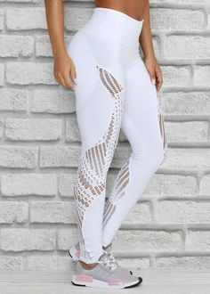 Sexy Outfits, Sport Outfits, Casual Outfits, Yoga Wear, Gym Wear, Tight Leggings, Workout Leggings, Looks Academia, Workout Wear