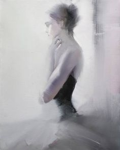 Buy Ballerina painting - Morning Smile, an Oil Painting on Canvas, by Yuri Pysar from Ukraine, For sale, Price is $1290, Size is 19.7 x 15.7 x 0.8 in.