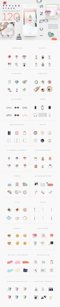 Styled stock photography icons by Polar Vectors on @creativemarket Marketing at it`s best, use this design elements for a perfect appearance. Use it for quotes, tips, photos, etiquette, ideas, ports or what ever you need for your business.