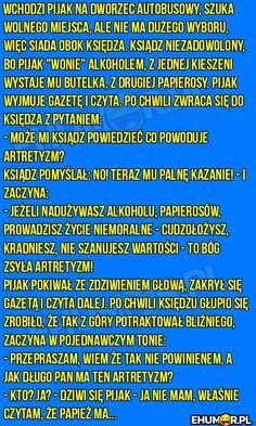 Wchodzi pijak na dworzec autobusowy… – eHumor.pl – Humor, Dowcipy, 😋 Najlepsze Kawały, Zabawne zdjęcia, fotki, filmiki Humor, Haha, Funny Memes, Language, Wisdom, Humour, Ha Ha, Funny Photos, Languages