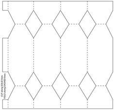 molde bala moldes pinterest boxen papier basteln und schachteln. Black Bedroom Furniture Sets. Home Design Ideas