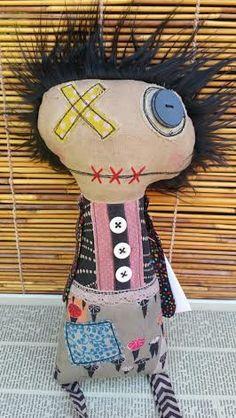 Cathy Handmade Art Doll