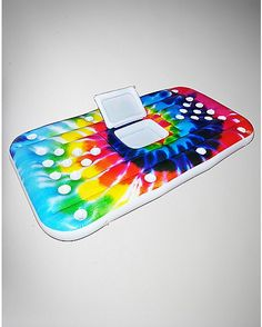 Tie Dye Inflatable Beer Pong Table Cooler - 6 ft - Spencer's