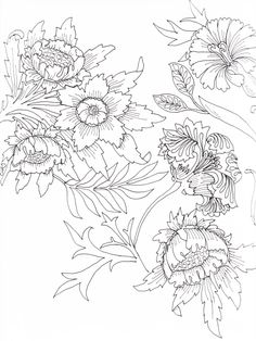 Visit the post for more. William Morris Patterns, William Morris Art, Surface Pattern Design, Pattern Art, Colouring Pages, Coloring Books, Bordados E Cia, Arts And Crafts Movement, Floral Illustrations