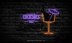 Cocktails & Dreams Neon Sign