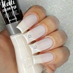 Grey Nail Polish, Gray Nails, Manicure Y Pedicure, Mani Pedi, Beautiful Toes, Fabulous Nails, Spring Nails, Jelsa, Makeup Art