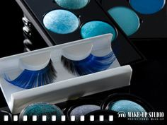 As blue as ice.. #makeupstudio #blue #makeup