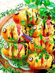 こいのぼり サンド - Google 検索 Vegetable Pizza, Vegetables, Google, Food, Essen, Vegetable Recipes, Meals, Yemek, Veggies