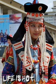 1000+ images about Mongolian national costumes on ...