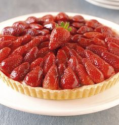 To make the French Strawberry Tart you need around 500g of strawberries and red current je...