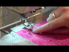 101 Patchwork Projects: Pojagi Seam Technique - YouTube