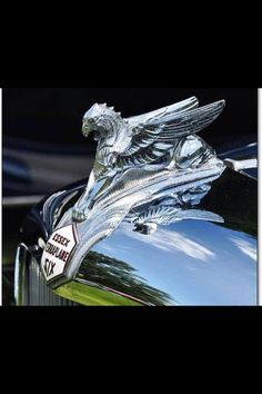 Hood ornament...Re-pin brought to you by agents of #carinsurance at #houseofinsurance in Eugene, Oregon