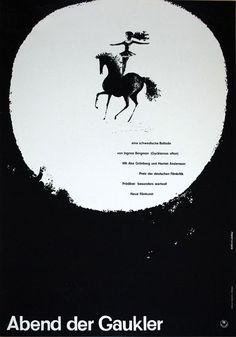 """Movie Poster of the Week: """"Shadows"""" and the Posters of Hans Hillmann"""