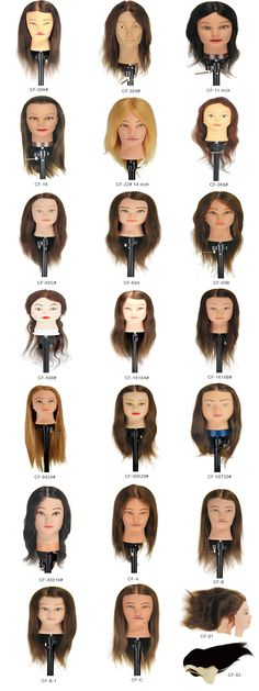 Product cataloge---Training Head.welcome your inquiry anytime.Mobile no.: 0086 13782247928 Email: xc_hair@vip.163.com