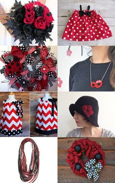 Wine Reds by Gabbie on Etsy