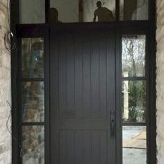 Side Light Entry Doors | Amberwood Doors Inc. Entry Doors, Front Doors, Entryway, Baseboard Trim, Baseboards, Modern Wooden Doors, Double Doors Exterior, Wooden Main Door Design, House Paint Exterior